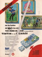 Kiri (fromages) Tintin Et Les Picaros - Advertising