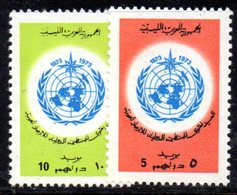 APR939 - LIBIA LYBIA 1973 , Serie Yvert  N. 498/499  ***  MNH  (2380A)  Omm - Libia