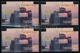1991 4 Db Használatlan, Balaton, Komp Telefonkártya, Bontatlan Csomagolásban. - Phonecards