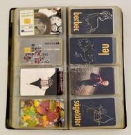 Kis Telefonkártya Gyűjtemény: 124 Db Külföldi, 36 Db Magyar, Közte Ritkaságok Is, összesen 160 Db - Phonecards