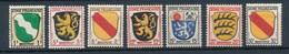 Französische Zone Mi. 1+2+4+6+7+8+10 Postfr.Wappen Rheinland Pfalz Saargebiet Baden Württemberg - Zone Française