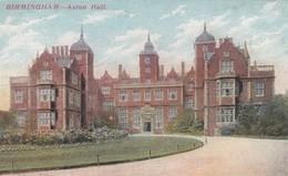 BIRMINGHAM, England, UK , 1900-10s ; Aston Hall - Birmingham