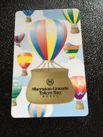 Hotelkarte Room Key Keycard Clef De Hotel Tarjeta Hotel  SHERATON GRANDE TOKYO BAY  DISNEYLAND - Phonecards