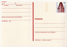 Germany / Berlin Mint Postal Stationary Card Chilehaus - [5] Berlin