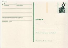 Germany / Berlin Mint Postal Stationary Card Bavaria - [5] Berlin