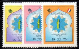 APR978 - LIBIA LYBIA 1974 , Serie Yvert  N. 503/505  ***  MNH  (2380A) Università - Libia