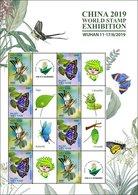 Vietnam Viet Nam MNH Perf Sheetlet Issued On 11th Of Jun 2019 : Butterfly - Vietnam