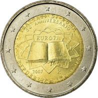 Italie, 2 Euro, Traité De Rome 50 Ans, 2007, SPL, Bi-Metallic, KM:311 - Italie