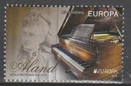 Aland Europa 2014 N° 392 ** Instruments De Musique - Europa-CEPT