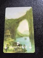 Hotelkarte Room Key Keycard Clef De Hotel Tarjeta Hotel  SHANGRI-LA SINGAPORE  Light - Phonecards