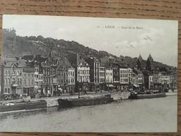CPA, Liège, Quai De La Batte, écrite En 1923, Timbre édition Henri Georges - Liege