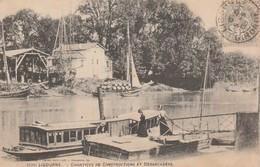 33 - LIBOURNE - Chantiers De Constructions Et Débarcadère - Libourne
