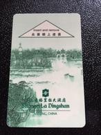 Hotelkarte Room Key Keycard Clef De Hotel Tarjeta Hotel  SHANGRI-LA NANJING - Phonecards