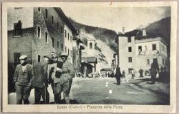 1928 LOZZO ( Cadore ) Piazzetta Della Posta/ Belluno - Italia