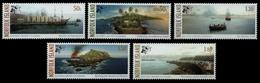 Norfolk-Insel 2006 - Mi-Nr. 945-949 ** - MNH - Schiffe / Ships - Norfolkinsel