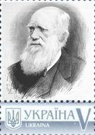 Ukraine 2016, Science, Great Naturalist Charles Darwin, 1v - Ukraine