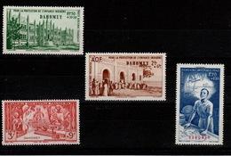 Dahomey - YV PA 6 à 9 N** Protection De L'enfance & Quinzaine Impériale - Dahomey (1899-1944)