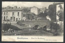 +++ CPA - NEUFCHATEAU - Pont Du Faubourg - Carte Animée  // - Neufchâteau