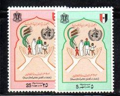 APR910 - LIBIA LYBIA 1974 , Serie Yvert  N. 506/507  ***  MNH  (2380A) - Libia