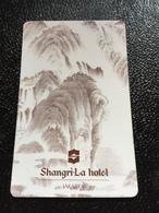 Hotelkarte Room Key Keycard Clef De Hotel Tarjeta Hotel  SHANGRI - LA  JAKARTA - Telefonkarten