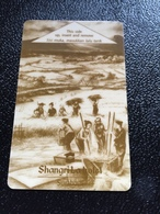 Hotelkarte Room Key Keycard Clef De Hotel Tarjeta Hotel  SHANGRI - LA  SURABAYA Old Dark - Telefonkarten