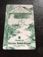 Hotelkarte Room Key Keycard Clef De Hotel Tarjeta Hotel  SHANGRI - LA   MACTAN ISLAND CEBU - Phonecards