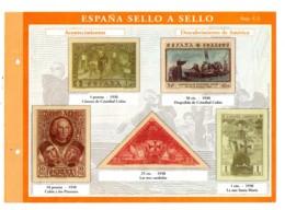 Espana -sello A Sello -Hoja C2-retirage Acontecimientos-voir état. - Essais & Réimpressions