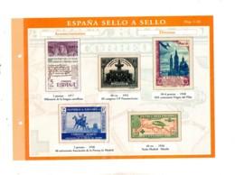 Espana -sello A Sello -Hoja C5-retirage Acontecimientos-voir état. - Proofs & Reprints