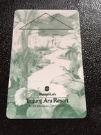 Hotelkarte Room Key Keycard Clef De Hotel Tarjeta Hotel  SHANGRI - LA  TANJUNG ARU KOTA KINABALU Dark - Phonecards