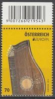 Autriche Europa 2014 N° 2962 ** Instruments De Musique - Europa-CEPT