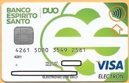 CREDIT / DEBIT CARD - BANCO ESPIRITO SANTO 036 (PORTUGAL) - Geldkarten (Ablauf Min. 10 Jahre)