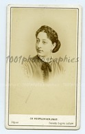 Portrait De Mlle Cico. CDV Ch. Reutlinger Photographie, Paris. - Non Classés