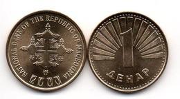 Macedonia - 1 Denar 2000 UNC Comm. Lemberg-Zp - Macedonia