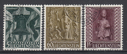 LIECHTENSTEIN - Michel - 1959 - Nr 386/88 - Gest/Obl/Us - Oblitérés