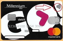 CREDIT / DEBIT CARD - BANCO MILLENNIUM BCP 035 (PORTUGAL) - Geldkarten (Ablauf Min. 10 Jahre)