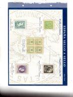 Espana -sello A Sello -Hoja H04-retirage La Historia-voir état. - Proofs & Reprints
