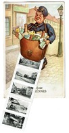 Un Bonjour De Florennes - Carte à Système - Dépliant Multi-vues - 3 Scans - Florennes
