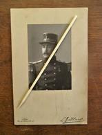 Antieke Gesigneerde Foto GENDARM    Door  L  .  GILLARD   Liége - Signed Photographs