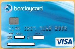 CREDIT / DEBIT CARD - BARCLAYS BANK 007 (PORTUGAL) - Geldkarten (Ablauf Min. 10 Jahre)