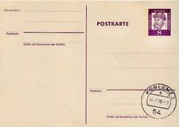 Germany / Berlin Cancelled Postal Stationary Card Gutenberg - [5] Berlin