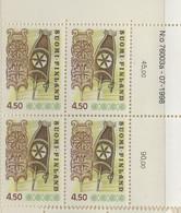 PIA - FINLANDIA  - 1976 - 1999 : Oggetti D'arte Popolare - (Yv 746 X 4) - Finlandia