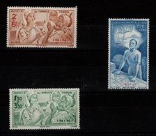 Inini - Poste Aerienne YV PA 1 à 3 N** Protection De L'enfance Et Quinzaine Impériale Cote 3,50+ Euros - Inini (1932-1947)