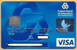 CREDIT / DEBIT CARD - CAIXA GERAL DEPÓSITOS 063 (PORTUGAL) - Geldkarten (Ablauf Min. 10 Jahre)