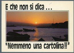 °°° Cartolina N. 210 Bolsena Porticciolo Tramonto Viaggiata °°° - Viterbo