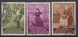LIECHTENSTEIN - Michel - 1961 - Nr 411/12 - Gest/Obl/Us - Liechtenstein