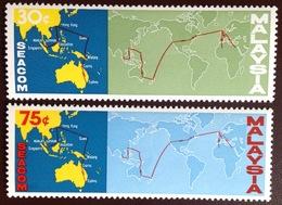 Malaysia 1967 SEACOM Telephone Cable MNH - Malaysia (1964-...)