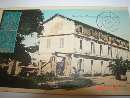 C.P.A.- Mayotte - Travaux Publics Et Postes - 1919 - SUP (BR 66) - Mayotte