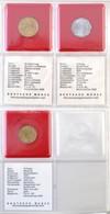 Vegyes: Négygyűrűs érmeberakó Album, 'FAO Weltsammlung' Számára, Német Nyelvű Lefűzhető Katalógussal, Benne 14xklf érme, - Coins & Banknotes