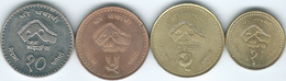 Nepal - Birendra - VS2054 (1997 -२०५४) - Visit Nepal - 1, 2, 5 & 10 Rupees - (KMs 1115-1118) - Népal