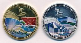 Kína 2010. 'EXPO 2010 Shanghai China - Better City, Better Life' Aranyozott, Ezüstözött, Részben Multicolor Emlékérem Pá - Coins & Banknotes